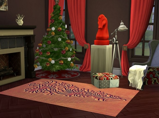 Christmas Chic Carpets by Delise at Sims Artists image 11014 670x499 Sims 4 Updates