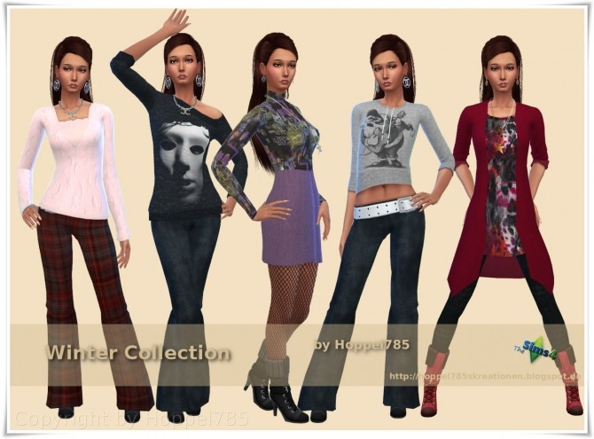 Winter Collection by Hoppel785 image 1106 670x495 Sims 4 Updates