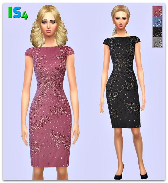 Sims 4 Dress 49 IS at Irida Sims4