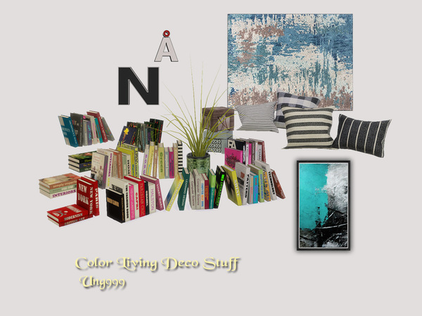 Color Living Decor Stuff by ung999 at TSR image 11103 Sims 4 Updates
