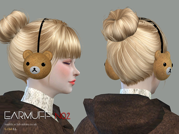 Earmuff N02 by S Club LL at TSR image 11104 Sims 4 Updates