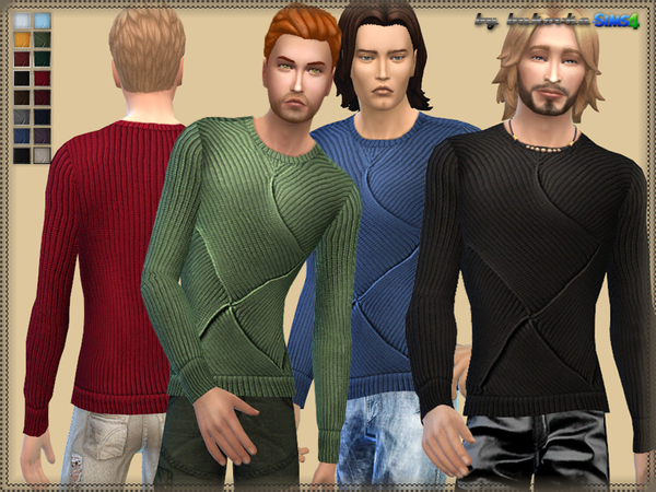 Sims 4 Sweater Overlap by bukovka at TSR