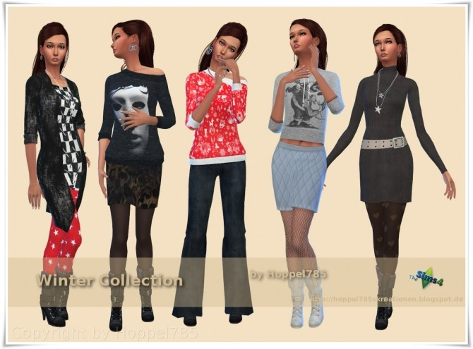 Winter Collection by Hoppel785 image 11111 670x495 Sims 4 Updates