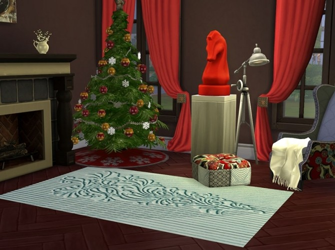 Christmas Chic Carpets by Delise at Sims Artists image 11117 670x499 Sims 4 Updates