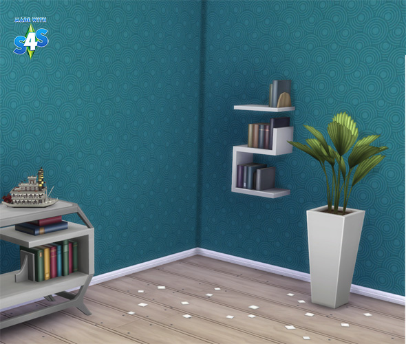 Private Postcard Display and Poppet So Retro Walls at Bienchen83 – Sim2me image 11123 Sims 4 Updates