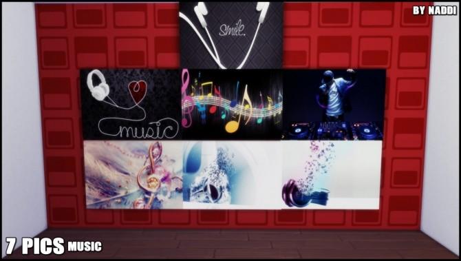 Sims 4 Music Pics at Naddi