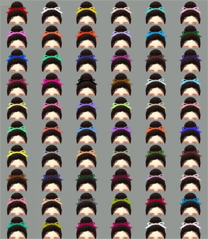 Sims 4 Head ribbon at Marigold