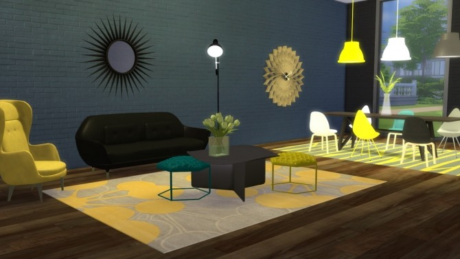 Hive Coffee Table at Meinkatz Creations image 11810 670x377 Sims 4 Updates