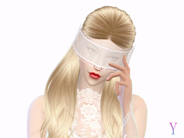 Lace veil by Elza·Scarlet at TSR image 1188 Sims 4 Updates