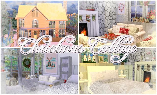 Christmas Cottage at Angelina Koritsa image 12216 Sims 4 Updates