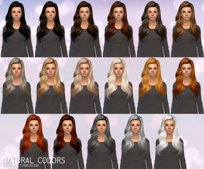 Sims 4 Butterflysims Hair 144 Retexture at Aveira Sims 4