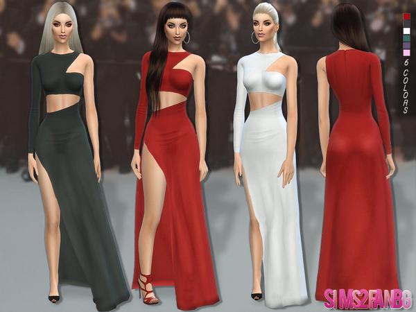 Sims 4 113 Desislava dress by sims2fanbg at TSR