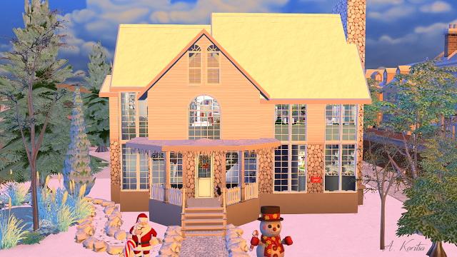 Christmas Cottage at Angelina Koritsa image 12313 Sims 4 Updates