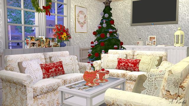 Christmas Cottage at Angelina Koritsa image 12411 Sims 4 Updates