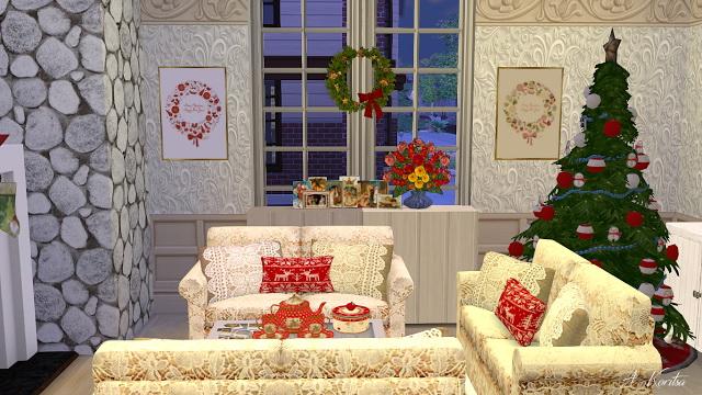 Christmas Cottage at Angelina Koritsa image 12510 Sims 4 Updates