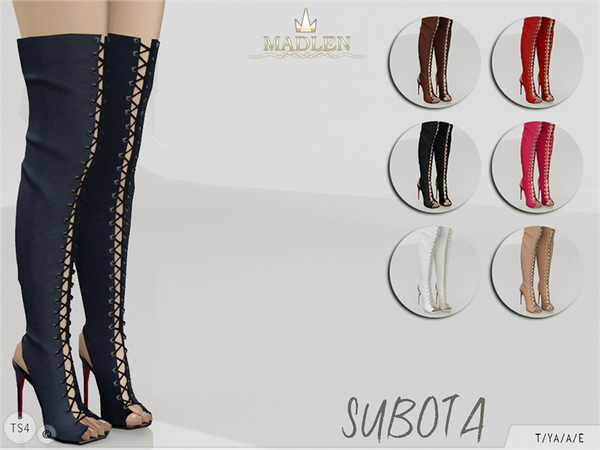 Madlen Subota Boots By Mj95 At Tsr 187 Sims 4 Updates