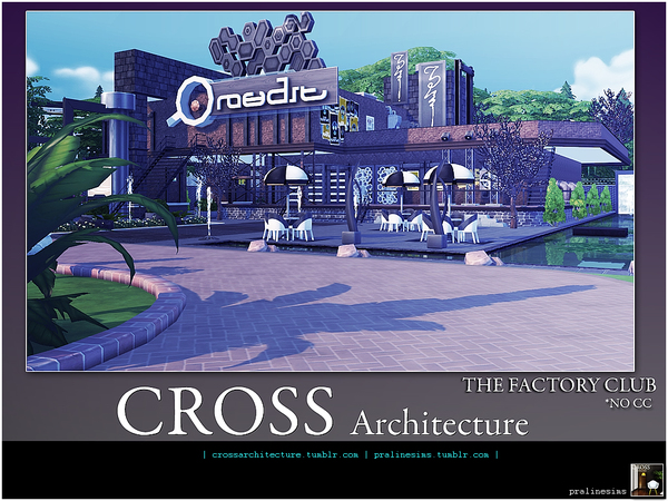 THE FACTORY CLUB by Pralinesims at TSR » Sims 4 Updates