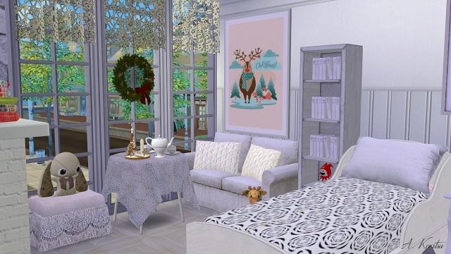 Christmas Cottage at Angelina Koritsa image 1269 Sims 4 Updates