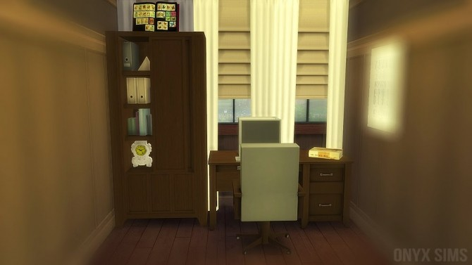 Sims 4 Carson Office at Onyx Sims