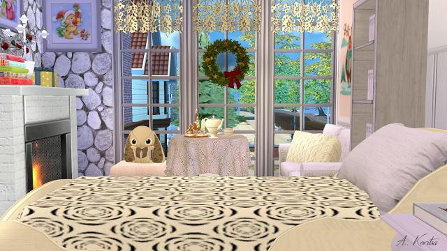 Christmas Cottage at Angelina Koritsa image 1279 Sims 4 Updates