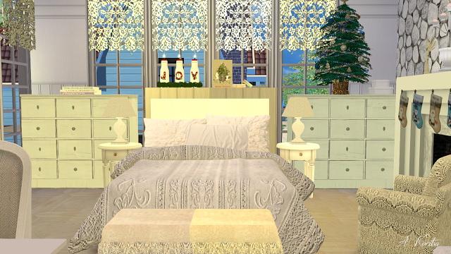 Christmas Cottage at Angelina Koritsa image 1288 Sims 4 Updates