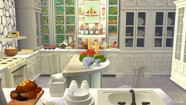Christmas Cottage at Angelina Koritsa image 1298 Sims 4 Updates