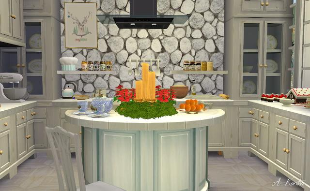 Christmas Cottage at Angelina Koritsa image 1308 Sims 4 Updates