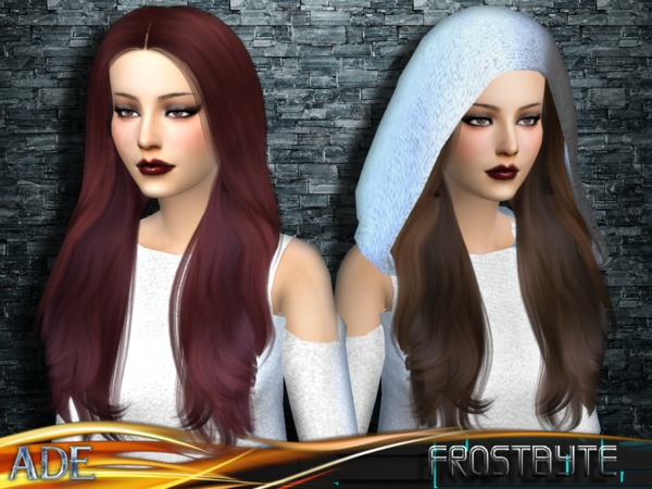 Frostbyte hair by Ade Darma at TSR image 13116 Sims 4 Updates