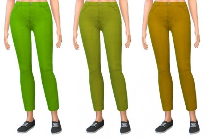 Sims 4 Tank tops & Jeans Recolors at 4 Prez Sims4
