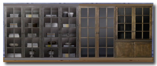 Sims 4 Tinhouse's Industrial Table Antiqued Black at Msteaqueen