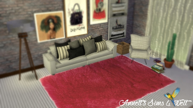 Fluffy Rugs At Annett S Sims 4 Welt 187 Sims 4 Updates