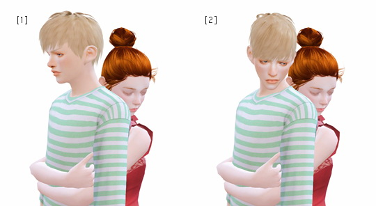Couple Poses #2 at Rinvalee image 1386 Sims 4 Updates