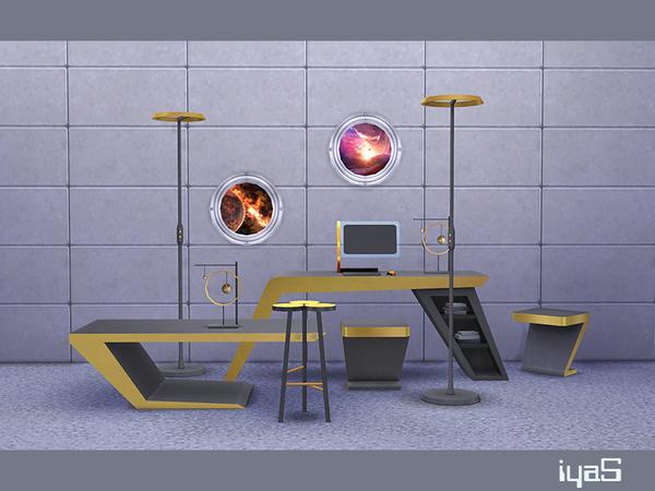 Futuristic set by soloriya at TSR image 14 Sims 4 Updates