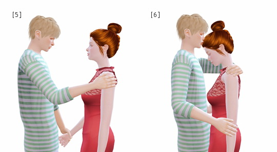 Couple Poses #2 at Rinvalee image 1406 Sims 4 Updates