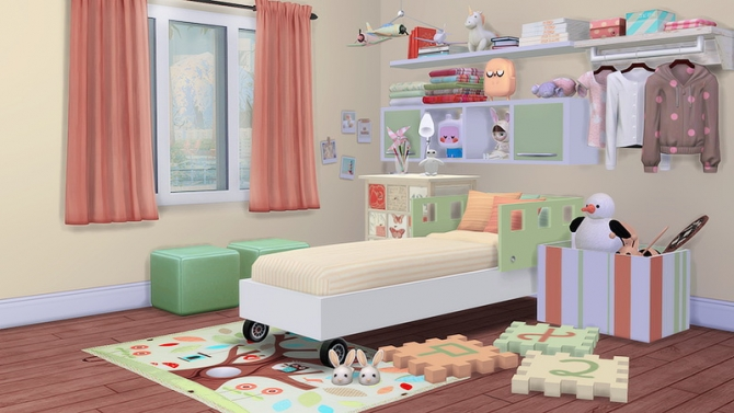 The Seeds Of Design 2 0 Child Room At Dream Team Sims