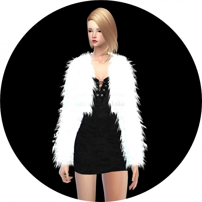 Acc Fur Jacket At Marigold 187 Sims 4 Updates