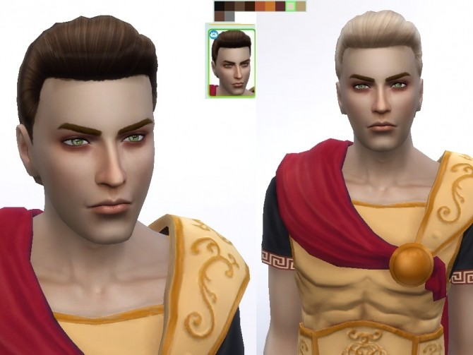 Male Hair retexture at Tatyana Name image 1446 670x503 Sims 4 Updates