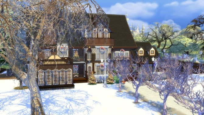 Olmstead Estate Holiday Mansion by Christine11778 at Mod The Sims image 1465 670x377 Sims 4 Updates