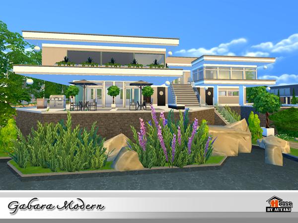 Gabara Modern house by autaki at TSR image 1467 Sims 4 Updates