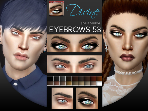 5 Eyebrows Minipack 6.0 by Pralinesims at TSR image 147 Sims 4 Updates