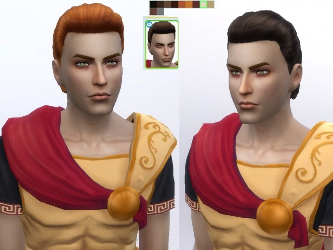 Male Hair retexture at Tatyana Name image 1476 670x503 Sims 4 Updates