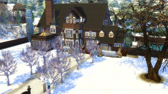 Olmstead Estate Holiday Mansion by Christine11778 at Mod The Sims image 1478 670x377 Sims 4 Updates