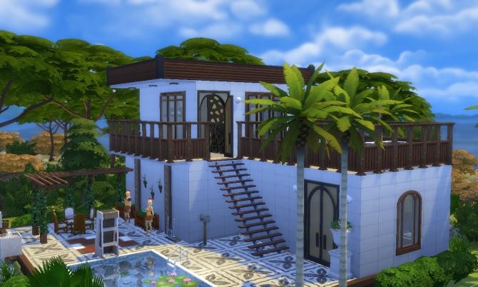 greek house at tatyana name 187 sims 4 updates