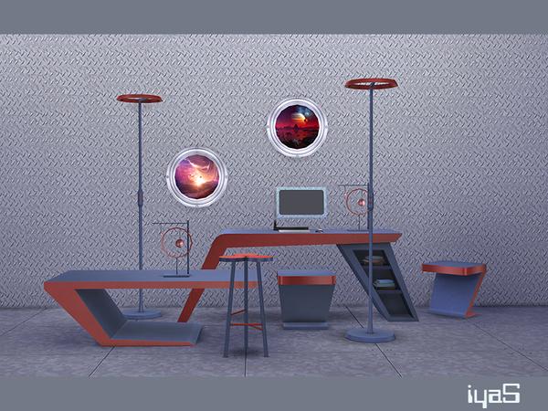 Futuristic set by soloriya at TSR image 15 Sims 4 Updates