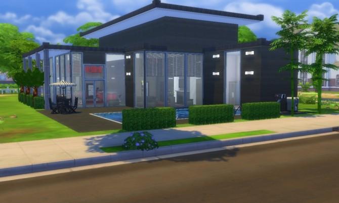 Sims 4 The Black House II at Tatyana Name