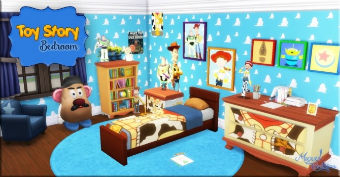 toy story bedroom at victor miguel image 1558 670x350 sims 4 updates