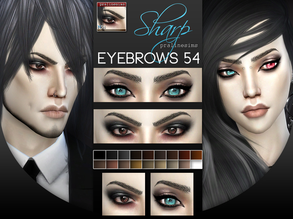 5 Eyebrows Minipack 6.0 by Pralinesims at TSR image 157 Sims 4 Updates