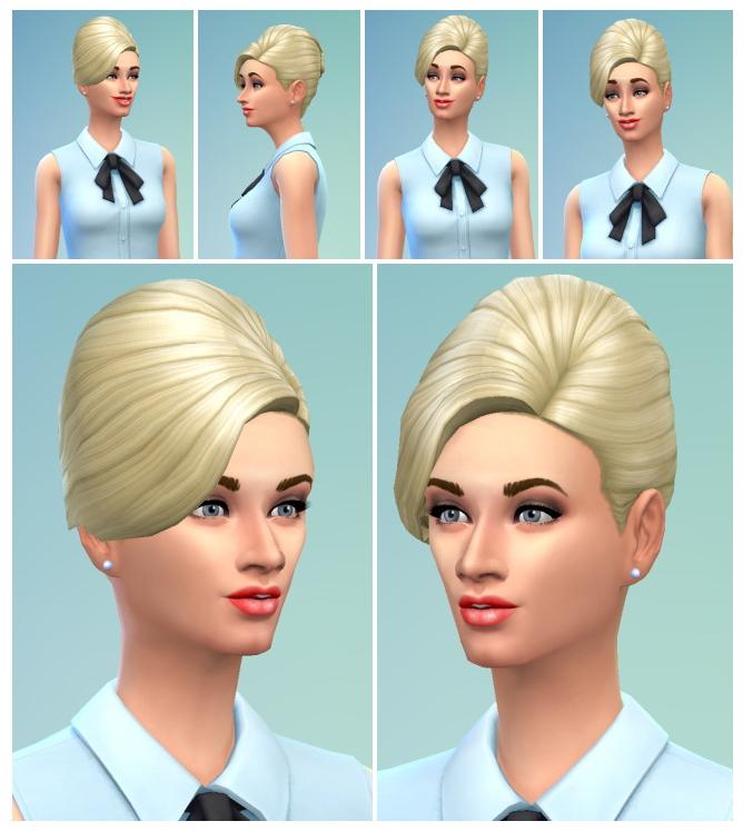 Sims 4 Higher Twist Hair at Birksches Sims Blog