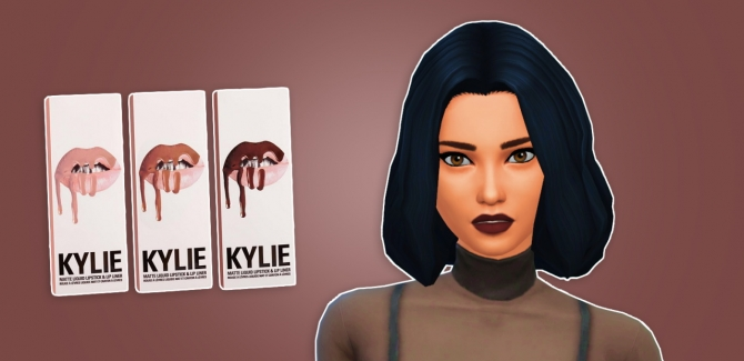 Lip Kit By Kylie At Primadonna Sims 187 Sims 4 Updates