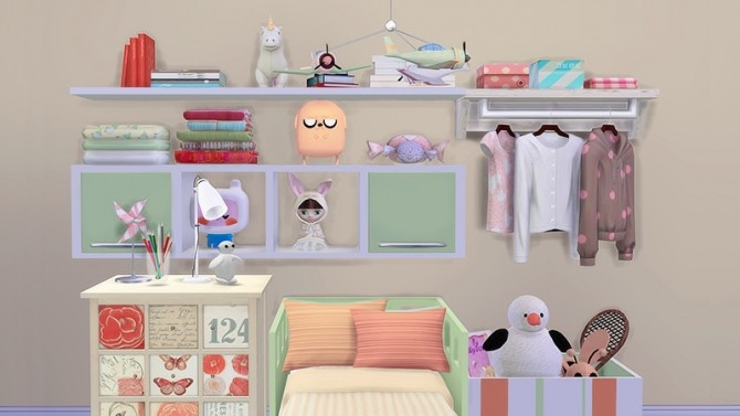 The Seeds of Design 2.0 child room at Dream Team Sims